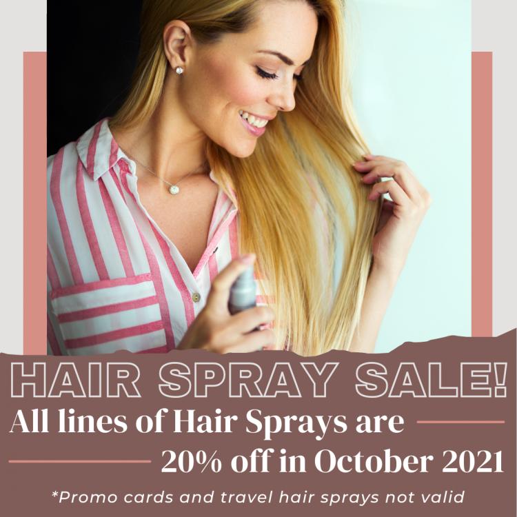 Hair Artists - Hair Spray Sale